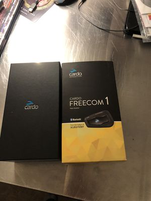 Cardio Freecom 1 Bluetooth motorcycle for Sale in Dallas, TX