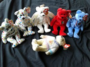 Beanie babies assorted bears for Sale in Naperville, IL