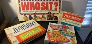 Vintage board games for Sale in Broomfield, CO