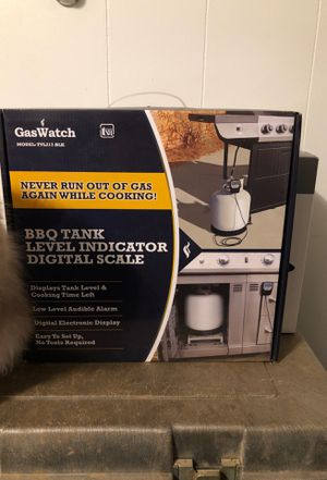 GasWatch BBQ Level & Digital Scale for Sale in Coolville, OH