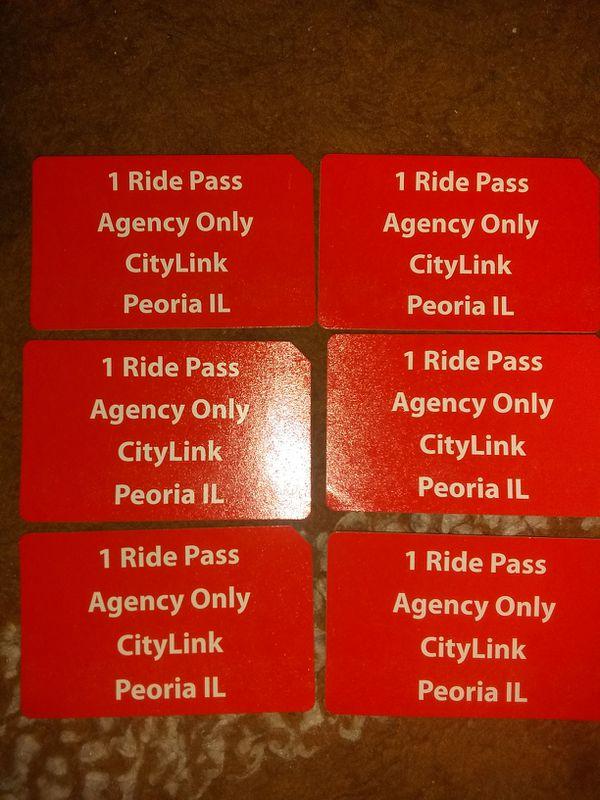 (VALID) CITYLINK BUS PASSES