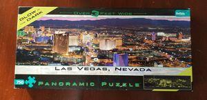Las Vegas Nevada Glow in the Dark Panoramic Puzzle for Sale in VLG WELLINGTN, FL