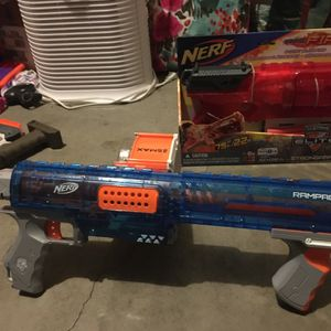 Nerf Rampage Sonic Ice - Modified for Sale in Tacoma, WA