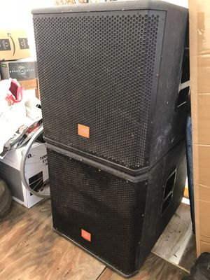 "JBL MRX518S 18"" Bass Reflex Compact Portable Subwoofers for Sale in North Miami, FL"