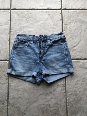 Abercrombie High waisted denim shorts for Sale in Rancho Cucamonga, CA