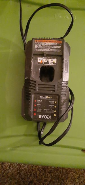 Ryobi 18Volt Battery Charger. Works great! for Sale in Richland, WA