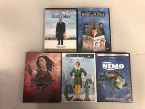 Family Movie Lot. 4 DVD 1 Blu Ray for Sale in Thomasville, NC