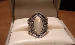 New Fashion Silver Moonstone Ring. for Sale in Pawtucket, RI