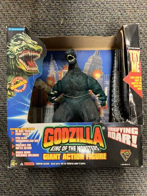 Vintage 1994 Trendmasters Godzilla King of The Monsters Giant Action Figure for Sale in Walnut Creek, CA