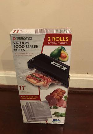 Vacuum food sealer rolls for Sale in Germantown, MD