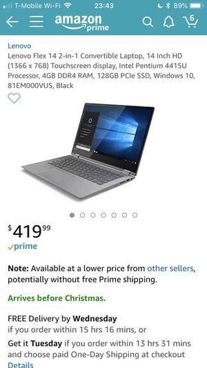 Lenovo idea pad touchscreen for Sale in Wichita, KS