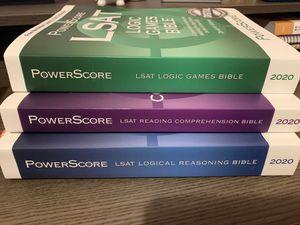 Powerscore LSAT- All three books for Sale in Anaheim, CA