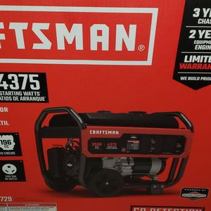 Craftsman Generator for Sale in Indianapolis, IN