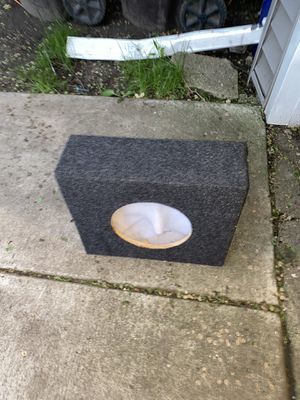 Speaker box for car audio for Sale in Arlington Heights, IL