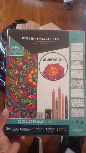 Color pencils. Prismacolor brand new sealed for Sale in Hazard, CA