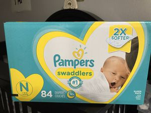 Newborn Pampers Diapers for Sale in Mesa, AZ