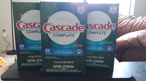 Cascade Complete Dishwasher Soap for Sale in Las Vegas, NV