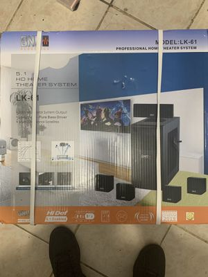 BNO ACOUSTICS HOME THEATER SYSTEM for Sale in Jamaica, NY