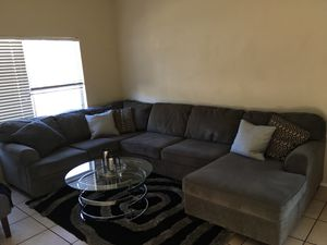 Charco grey Ashley sectional couch 500 for Sale in Surprise, AZ