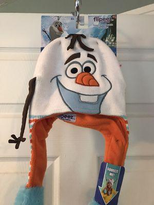 Brand new Olaf flipeez hat for Sale in Philadelphia, PA