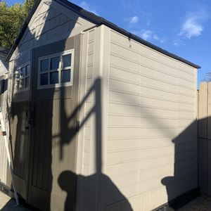 STORAGE SHED RUBBERMAID 7WIDE 7DEEP FREE DELIVERY for Sale in San Dimas, CA