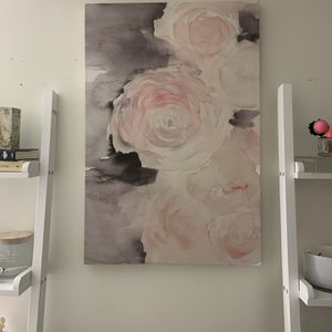 Beautiful Canvas flower frame for Sale in Gaithersburg, MD