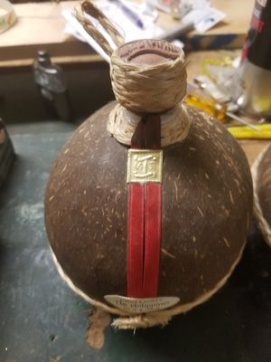 2 old empty Philippino alcohol bottles for Sale in Rolling Meadows, IL