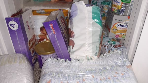 Diapers, Similac Formula, Diaper Wipes All Sizes