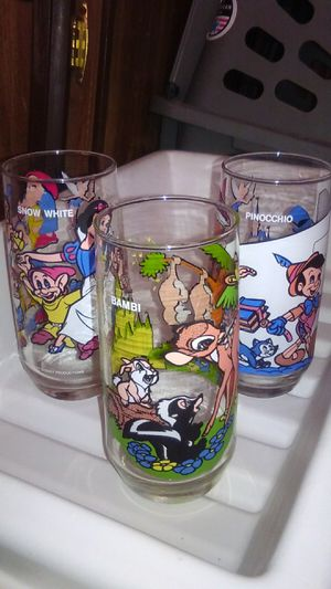 Disney Collectible Glasses for Sale in Sacramento, CA
