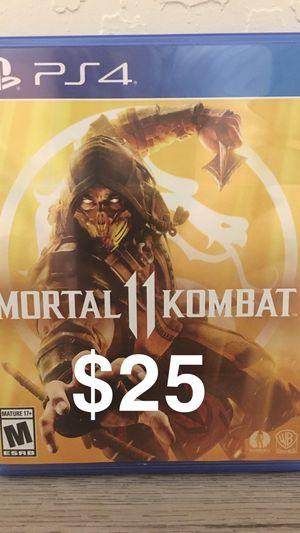 Mortal Kombat 11 PS4 game for Sale in Laveen Village, AZ