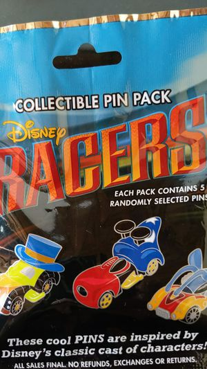 Disney racers mystery pins packs new 10$ for Sale in Pico Rivera, CA