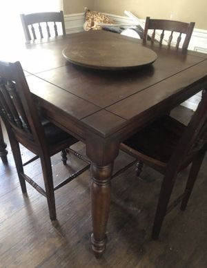 Solid wood dining set for Sale in Raleigh, NC