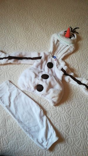 Olaf costume for 2-3years old for Sale in Ruskin, FL
