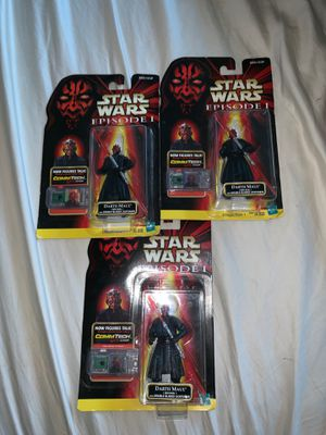 Hasbro Star Wars Episode 1 - Darth Maul Jedi Duel Action Figure (3 $60 EACH) for Sale in San Jose, CA