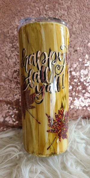 Happy fall y'all tumbler for Sale in Salem, MO