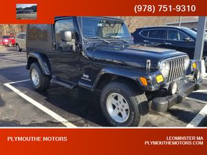 2005 Jeep Wrangler for Sale in Leominster, MA