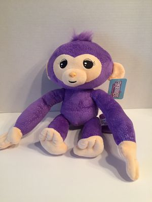 NWT Plush Fingerlings Purple Monkey for Sale in Norwalk, CT