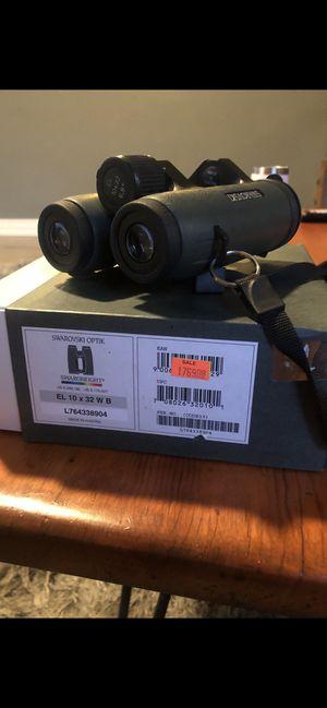 Swarovski EL 10x42 Binoculars for Sale in The Colony, TX