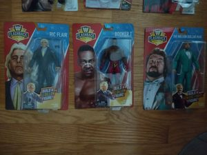 Wwe flashback Ric flair, Booker t, million dollar man for Sale in Lake Grove, NY