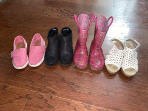 Girls size 11/12 shoes for Sale in Garland, TX