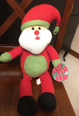 Santa Claus plushy doll for Sale in Auburndale, FL