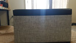 Black and white Ottoman for Sale in Cumberland, RI