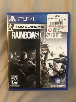 Rainbow six siege ps4 for Sale in Fullerton, CA
