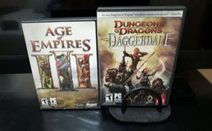 2 PC games for sale for Sale in Olympia, WA