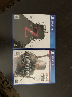 Ps4 games for Sale in Tehachapi, CA