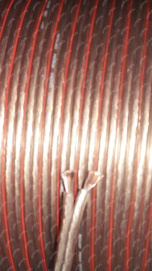 Premium 12 gauge speaker wire polorized 25 FEET x1 roll for Sale in Los Angeles, CA