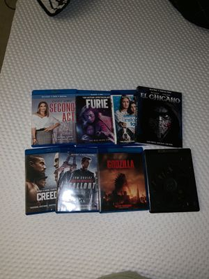 Blu ray movies and regular dvd for Sale in Port St. Lucie, FL