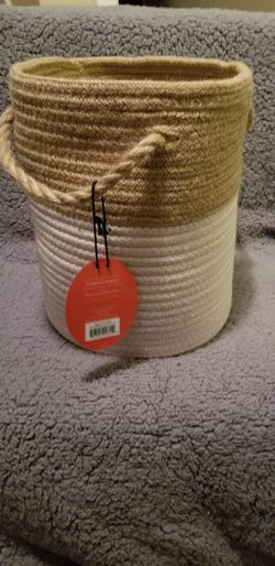 Coiled Rope Basket White - Opalhouse™ for Sale in Olmsted Falls,  OH