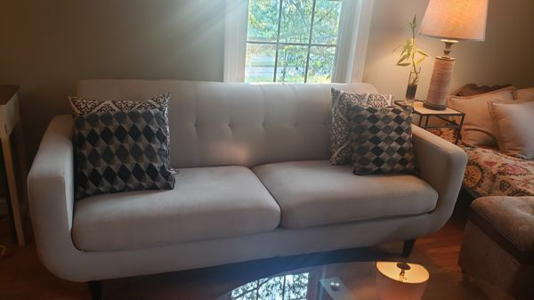Couch, Bar Stools, Coffee Table, Dividers