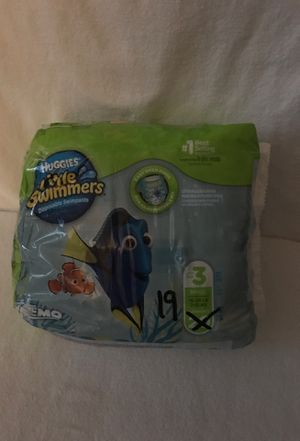 Huggies Little Swimmers Size 3, Count19. for Sale in Flossmoor, IL